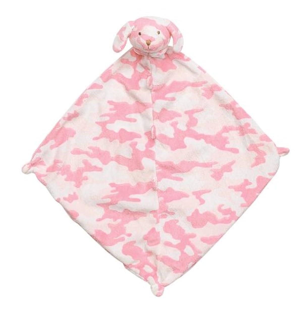 パーティー保険をかけるジェスチャーAngel Dear Blankie ブランケット 出産 祝い ピンク カモ イヌ
