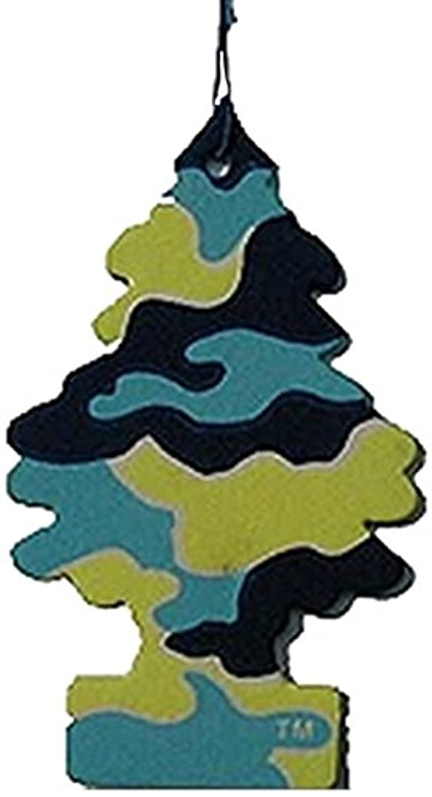 ゲート不測の事態識別Little Trees 吊下げタイプ エアーフレッシュナー ピナコラーダ 4枚セット(4P)