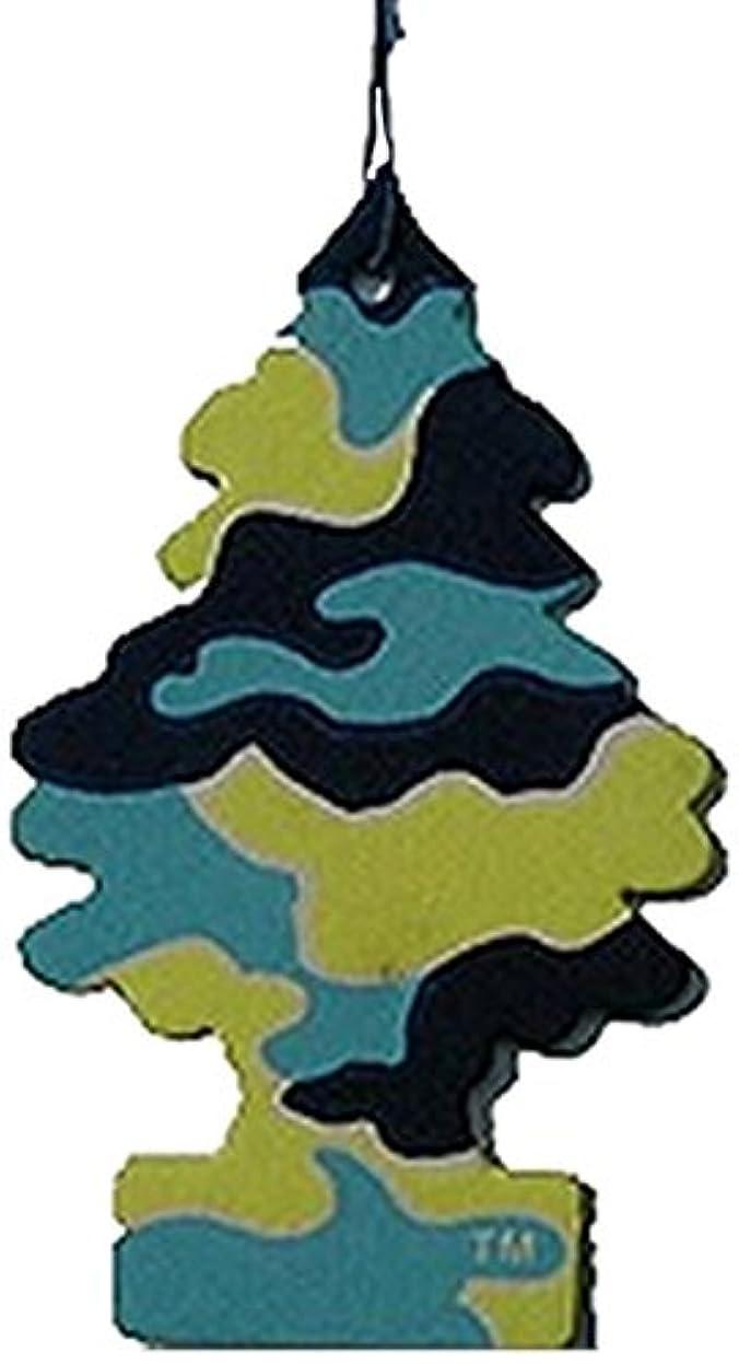 見て宿題をする実験をするLittle Trees 吊下げタイプ エアーフレッシュナー ピナコラーダ 4枚セット(4P)
