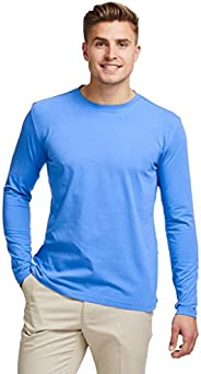 Solbari UPF 50+ Men's Sun Protection Long Sleeve T-Shirt - UV Protection, Sun Protec