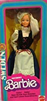 1982 Dolls of the World Swedish Sweden Barbie Doll 4032