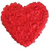 Newfashion 2000枚 バラ 花びら フラワーシャワー ローズ 花弁 結婚式 二次会 パーティー 誕生日 お祝い 演出にローズ