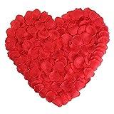 Newfashion 2000枚 フラワーシャワー 花びら 花弁 バラ ローズ パーティー 結婚式 誕生日 お祝い