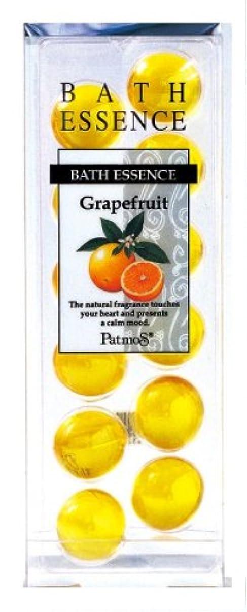 コテージ差別する食事を調理するパトモス バスエッセンス 12P グレープフルーツ