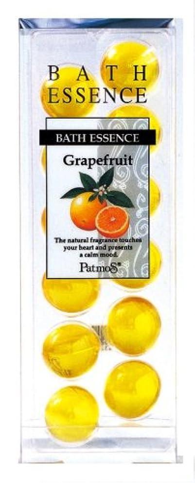 獲物シンプトンどっちパトモス バスエッセンス 12P グレープフルーツ