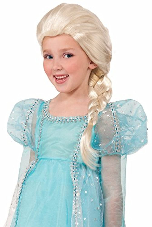 Blonde Princess Wig Child [並行輸入品]