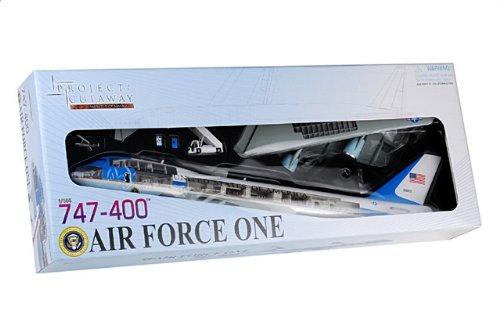 """1:144 ドラゴンモデルズProject Cutaway 47010 ボーイング VC-25A ディスプレイ モデル USAF 89th AW #92-9000 """"エアフォースワン""""【並行輸入品】"""