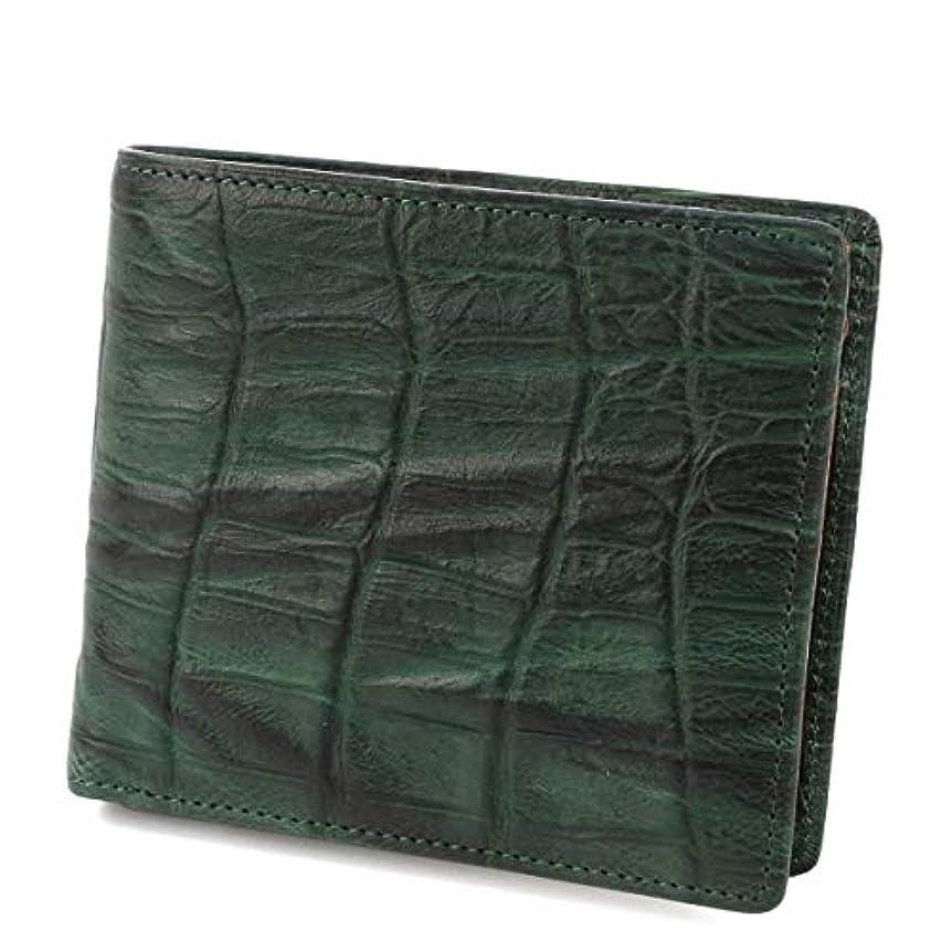 より平らなメカニックチューブ[ダコタブラックレーベル] 二つ折り財布 本革 ウェイブ 0627200 メンズ