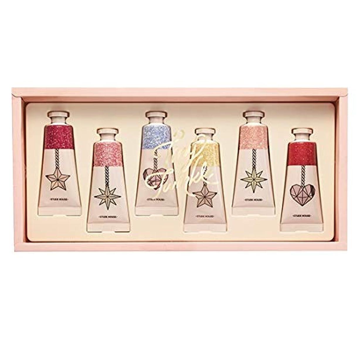 共産主義者非武装化くしゃくしゃエチュードハウス タイニー トゥインクル カラーフル セント パフュームド ハンドクリーム/ETUDE HOUSE Tiny Twinkle Colorful Scent Perfumed Handcream 6PCS...