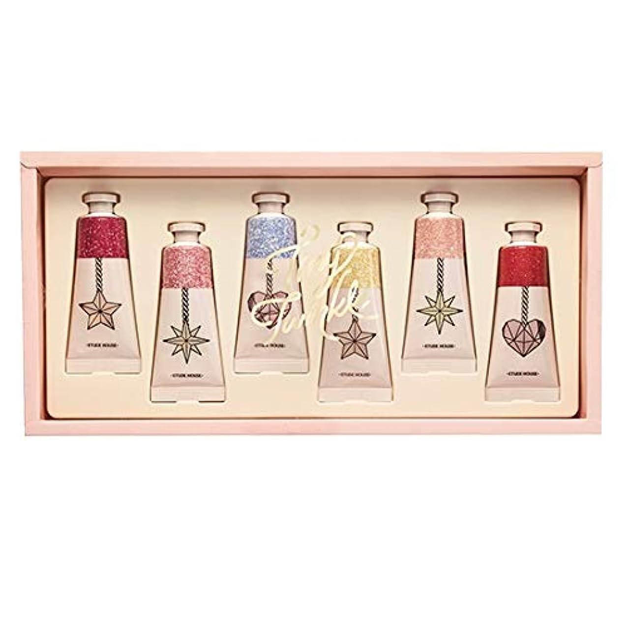 感心する絶えず伝染病エチュードハウス タイニー トゥインクル カラーフル セント パフュームド ハンドクリーム/ETUDE HOUSE Tiny Twinkle Colorful Scent Perfumed Handcream 6PCS...