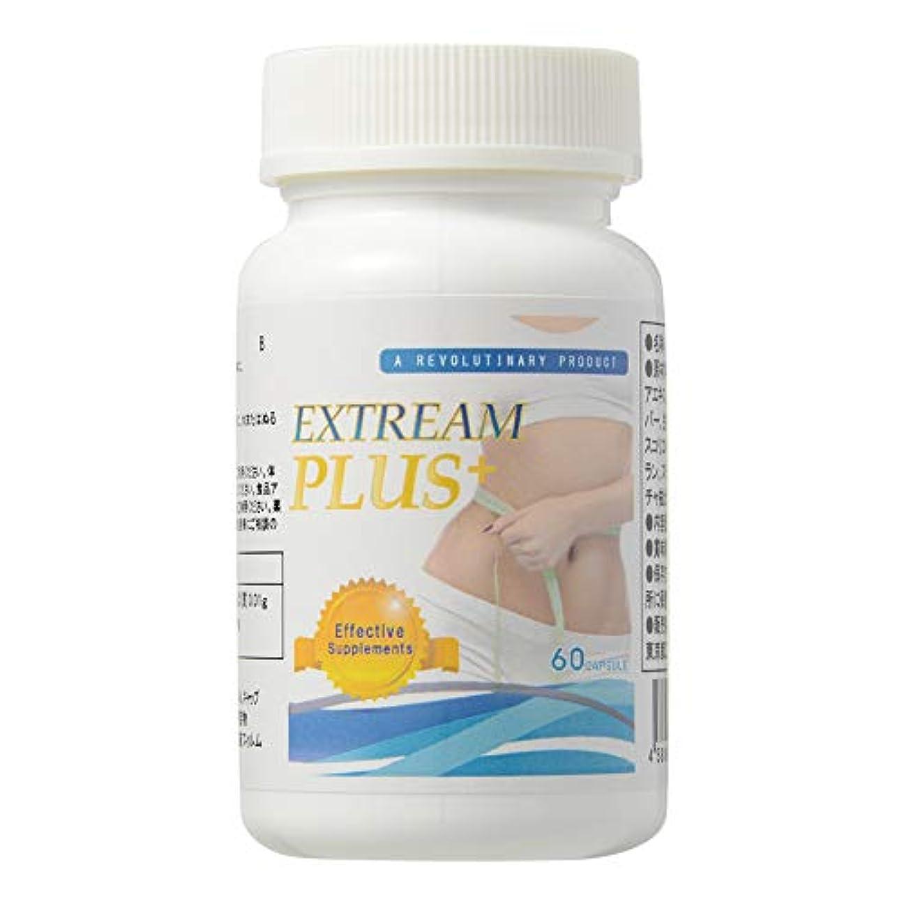 痴漢海岸カブExtream Plus (エクストリームプラス) 栄養補助食品 L-カルニチン サプリメント [250mg×60粒/ 説明書付き]