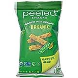 Peeled Snacks Peas Please Organic Garden Herb Crunchy Pea Snack 94 g, 94 g