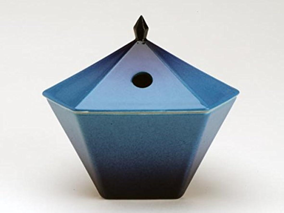 ピアースそれによってポンペイ縁 香炉 青 日本香堂