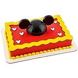 ミッキーマウスハット ケーキデコ トッパー デコレーション パーティー
