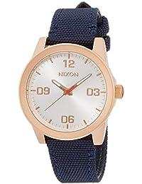 [ニクソン]NIXON 腕時計 G.I. NYLON: ROSE GOLD/NAVY NA9642160-00 レディース 【正規輸入品】