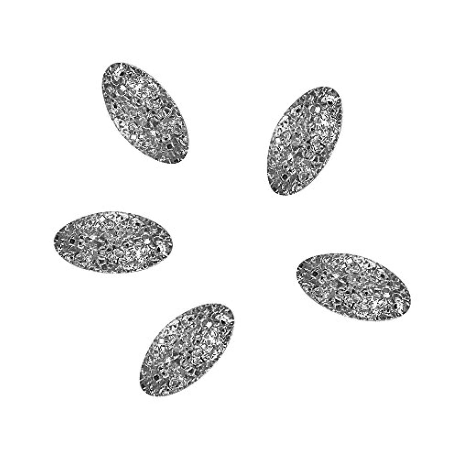 オリエント玉ねぎ市民Bonnail ラフスタッズシルバー オーバル4×2mm