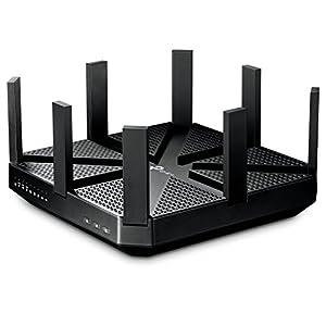 TP-Link WiFi 無線LAN ルーター Archer C5400 11ac ウィルス対策 セキュリティ 2167+2167+1000Mbps トライバンド 【 利用推奨環境 : 最大64台 / 4LDK / 3階建 】 【Nintendo Switch 動作確認済み】