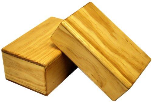 ヨガDirectニュージーランドPine木製ヨガブロック