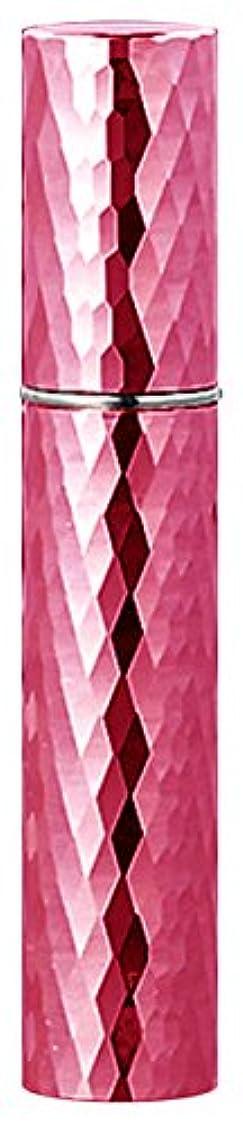 なんとなく追放形容詞22103 メタルアトマイザーダイヤカット ピンク