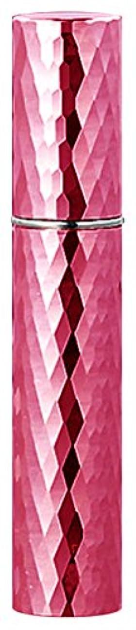 下に賢明な宇宙の22103 メタルアトマイザーダイヤカット ピンク