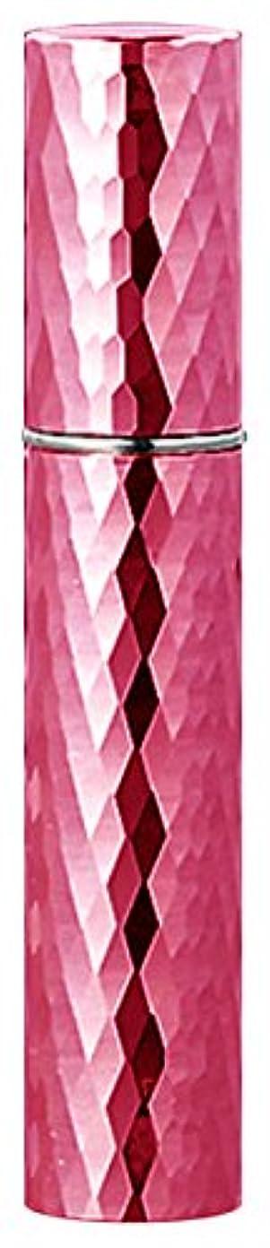 囲まれたインレイまた22103 メタルアトマイザーダイヤカット ピンク