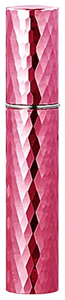 施設変装した手綱22103 メタルアトマイザーダイヤカット ピンク