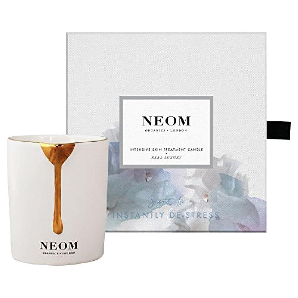 剪断災害やけど[Neom] Neom本当の贅沢なスキントリートメントキャンドル - Neom Real Luxury Skin Treatment Candle [並行輸入品]