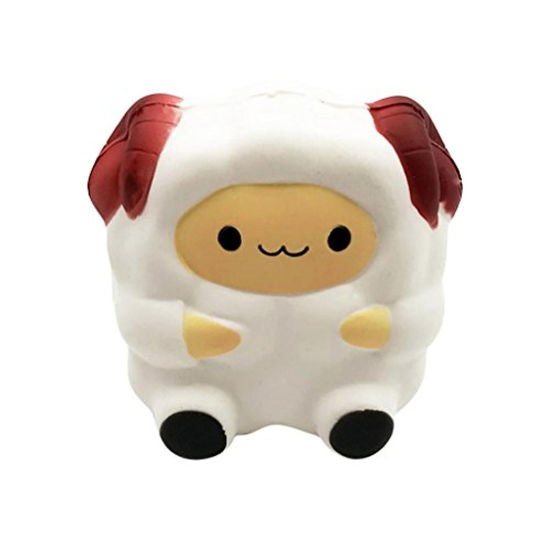 YIKAKIO ★ 2018ストレスを解消するのかわいい漫画の羊ちゃん子供玩具ギフト