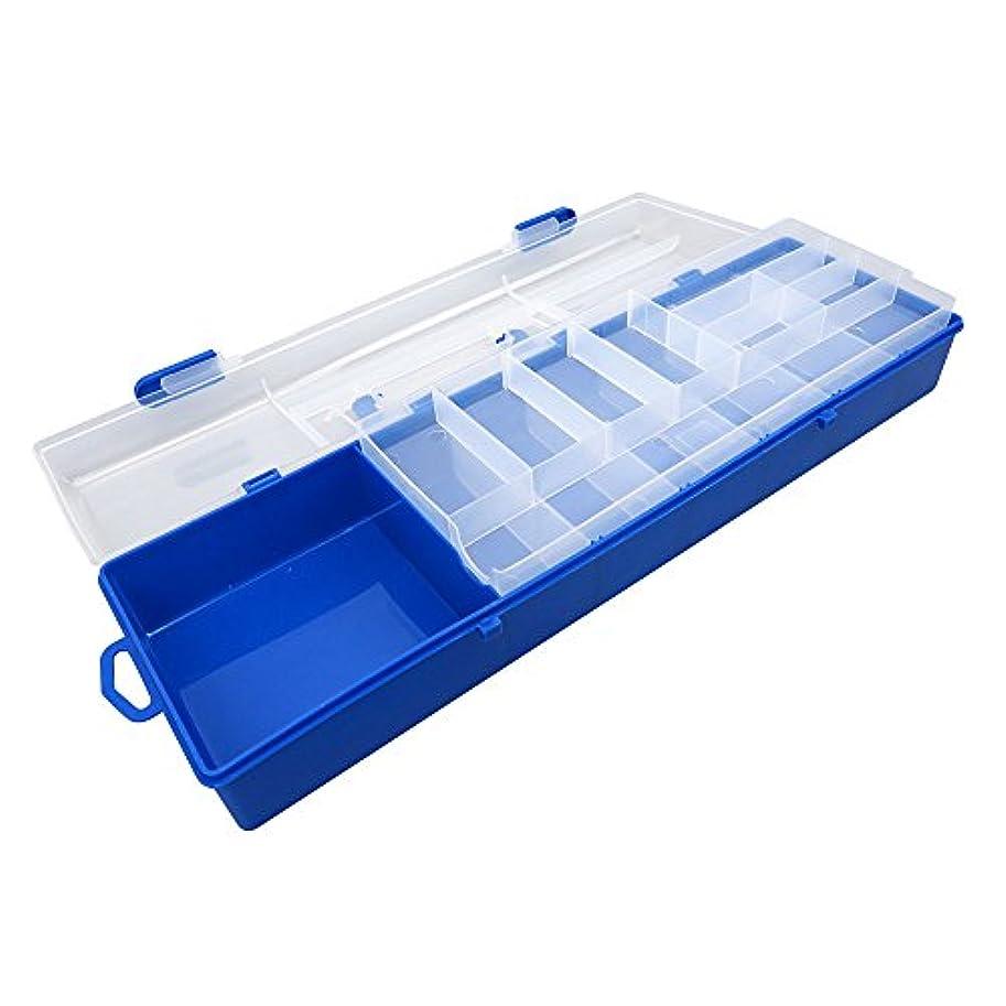 コットンダイヤモンド舌なbox303クリアビーズタックルボックス釣りルアージュエリーネイルアートパーツSmall表示プラスチック透明ケースストレージオーガナイザーコンテナKisten Boxen Boite
