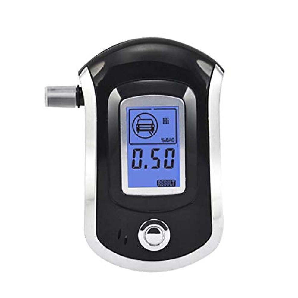 光沢同化ギネスintercorey Alcohol testing equipment AT-6000 Breathalyzer Alcohol Detector Digital LCD Screen Battery Power Hand-Hold...