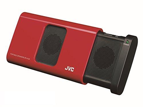 JVC SP-A130-R ポータブルスピーカー レッド