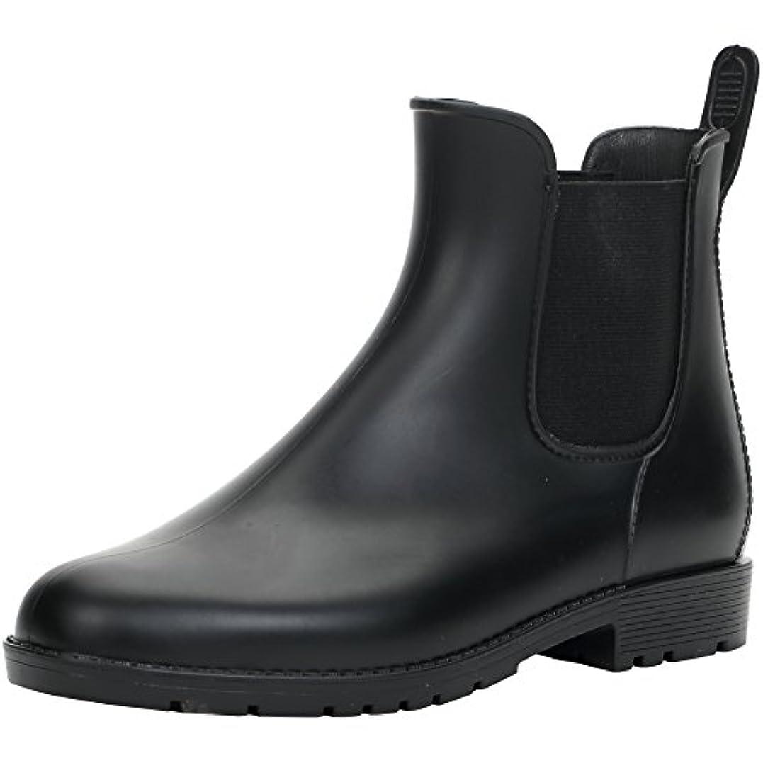 否定する導入する暗殺者[Hellozebra] サイドゴアブーツ レディースレインシューズ レインブーツ ラバー ショートブーツ 長靴 婦人靴 高級PVCおしゃれ 軽量、快適、防水、耐滑、晴れの日も履きたい