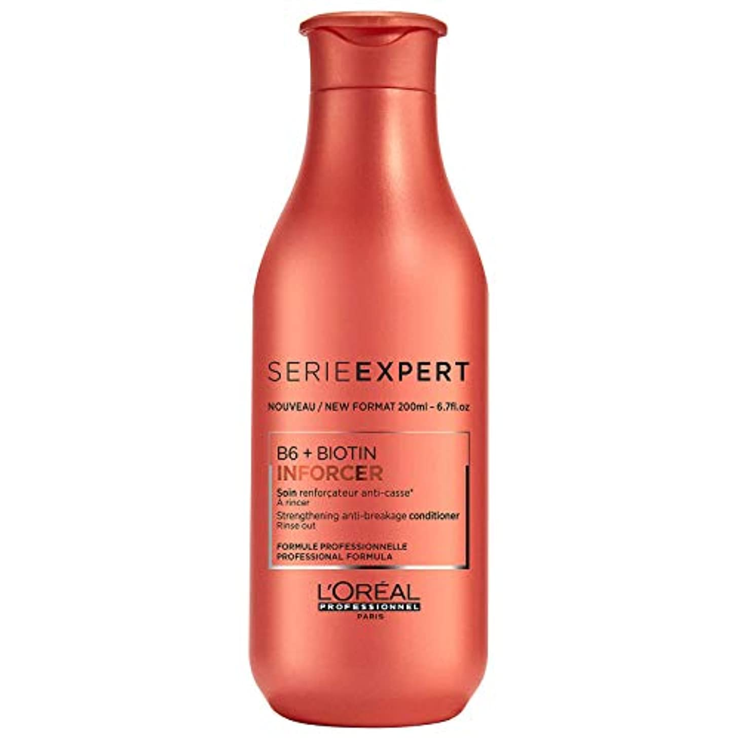 把握好きである急降下ロレアル Professionnel Serie Expert - Inforcer B6 + Biotin Strengthening Anti-Breakage Conditioner 200ml/6.7oz並行輸入品