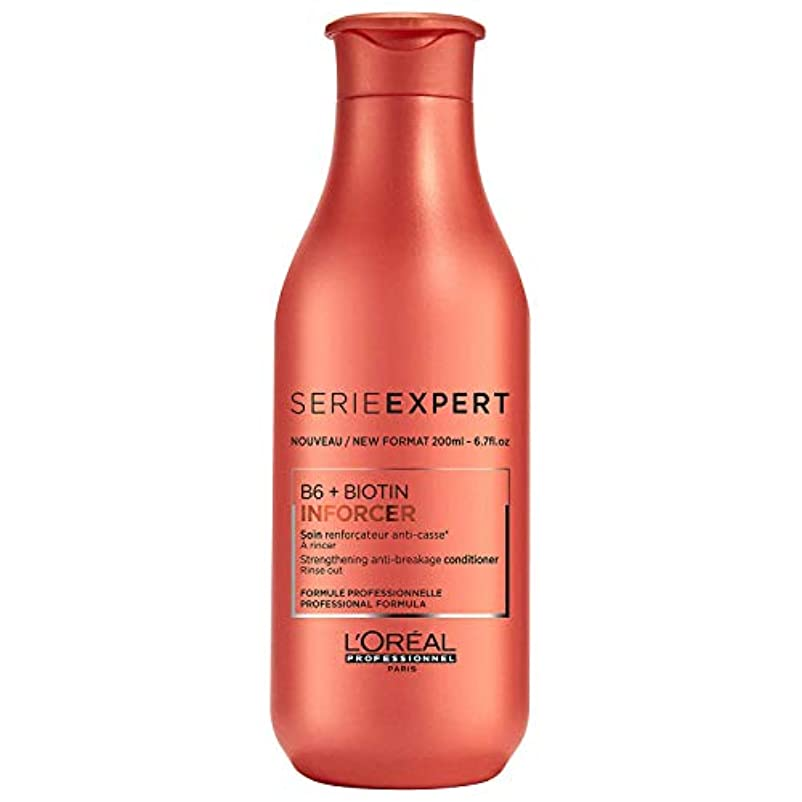 ロレアル Professionnel Serie Expert - Inforcer B6 + Biotin Strengthening Anti-Breakage Conditioner 200ml/6.7oz並行輸入品