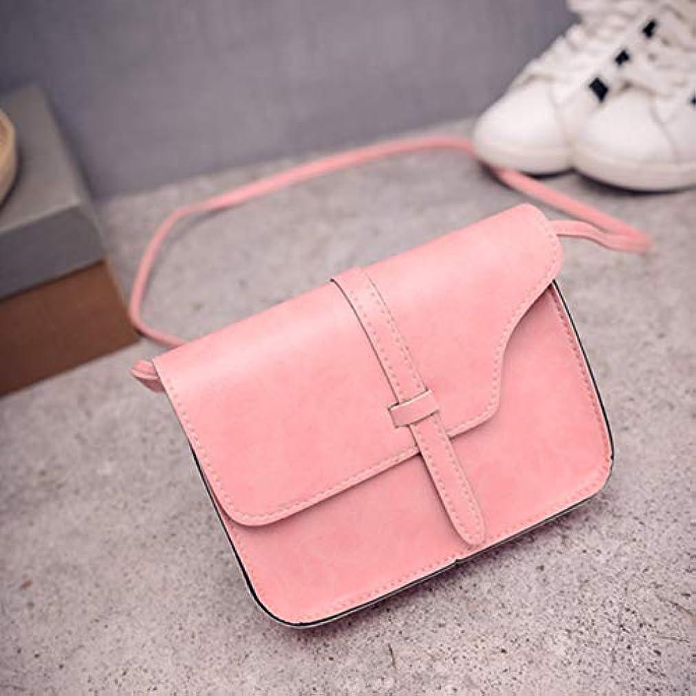 DeeploveUU PUベルトファッション女性のハンドバッグPUレザー女性のメッセンジャーバッグ丈夫なショルダークロスボディバッグユニバーサルレディース財布バッグ