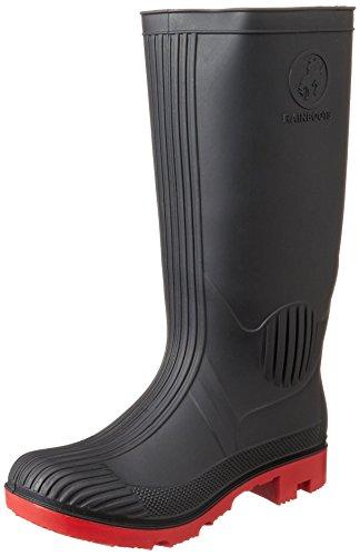 [スタートレーディング] [アレクソン] ALLEXONS PVCワークブーツ ST-5802 BLACK(BLACK/LL)