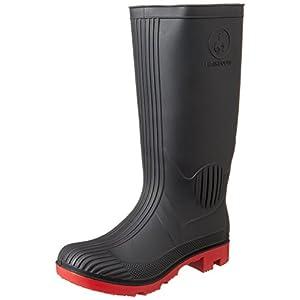 [アレクソン] ALLEXONS PVCワークブーツ ST-5802 BLACK(BLACK/L)