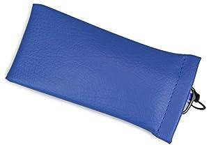 テーシーケース メガネケース 差し込みタイプ ブルー G-7-11