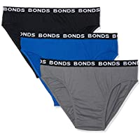 Bonds Men's Underwear Hipster Brief (3 pack)