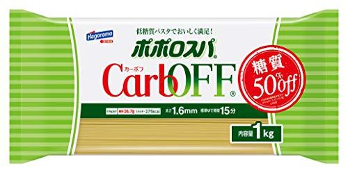 【Amazon.co.jp 限定】ポポロスパ CarbOFF(低糖質パスタ) 1.6mm 1kg (7938)