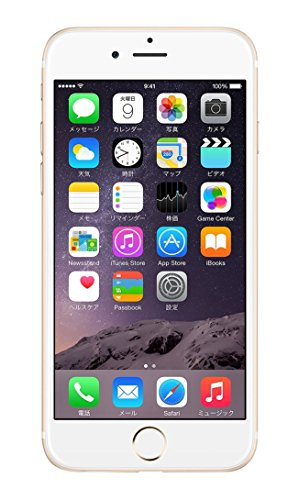 SoftBank版 iPhone 6 128GB ゴールド 白ロム Apple 4.7インチ