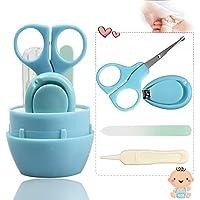ベビー爪切り,KIMIHE 爪切りセット【最新改良】新生児のつめ・鼻・耳のおていれに 赤ちゃんのネイルケアのいちばん ギフトに最適なお手入れセット