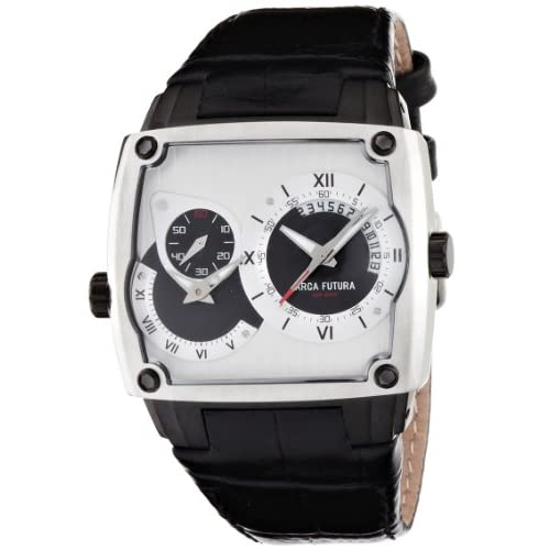 [アルカフトゥーラ]ARCA FUTURA 腕時計 クォーツ AFSU-E1SL1BK メンズ
