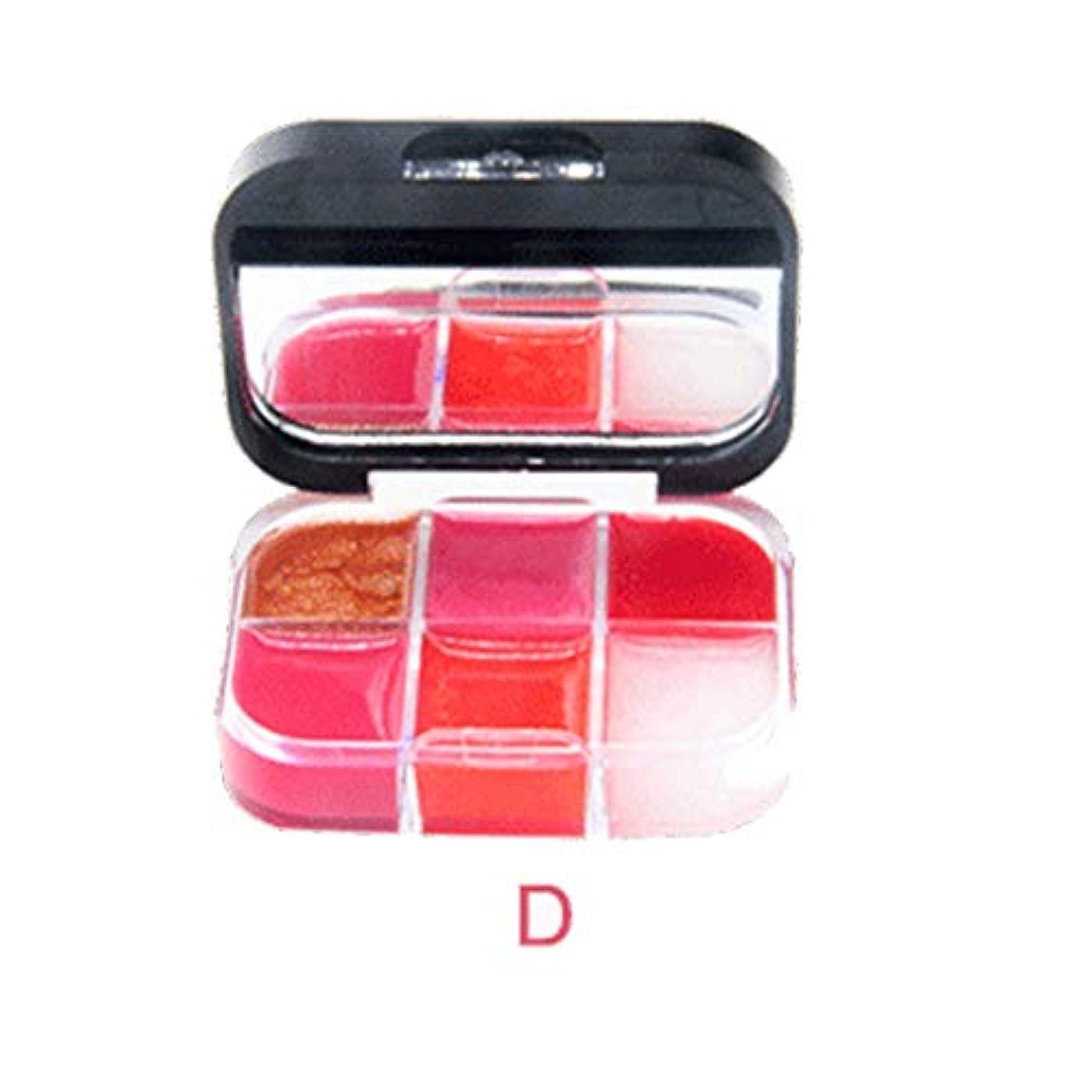 ランダム爆発フェロー諸島美は口紅の保湿剤の唇の光沢の化粧品セットを構成します