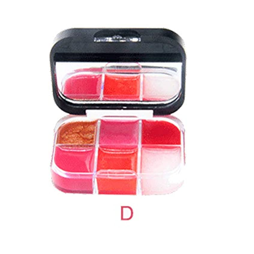 経営者最も遠い鏡美は口紅の保湿剤の唇の光沢の化粧品セットを構成します