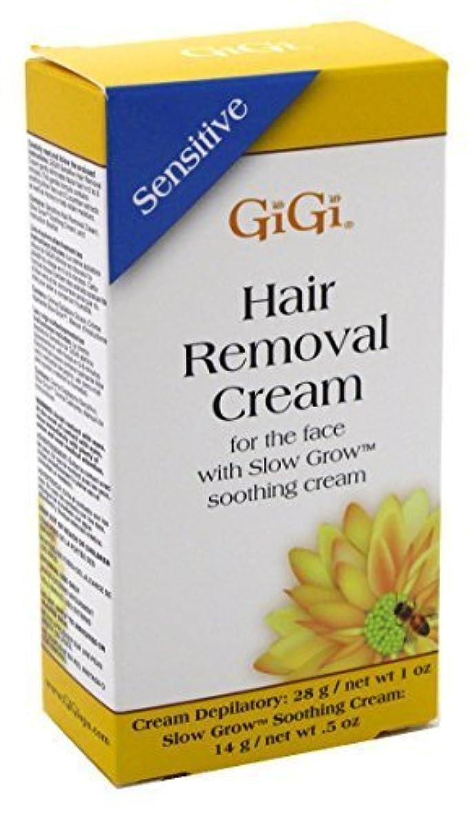 百科事典ずんぐりしたアセGIGI Hair Removal Cream For the Face (並行輸入品)