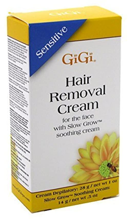 電話巨大挑むGIGI Hair Removal Cream For the Face (並行輸入品)