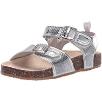 OshKosh B'Gosh Unisex-Child Girls OS190705 Skye Girl's Faux Buckle Sandal