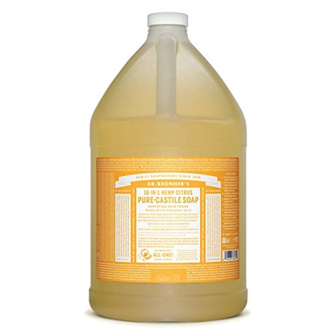 鋸歯状成分バルコニーDrブロナー マジックソープ 3780ml シトラスオレンジ