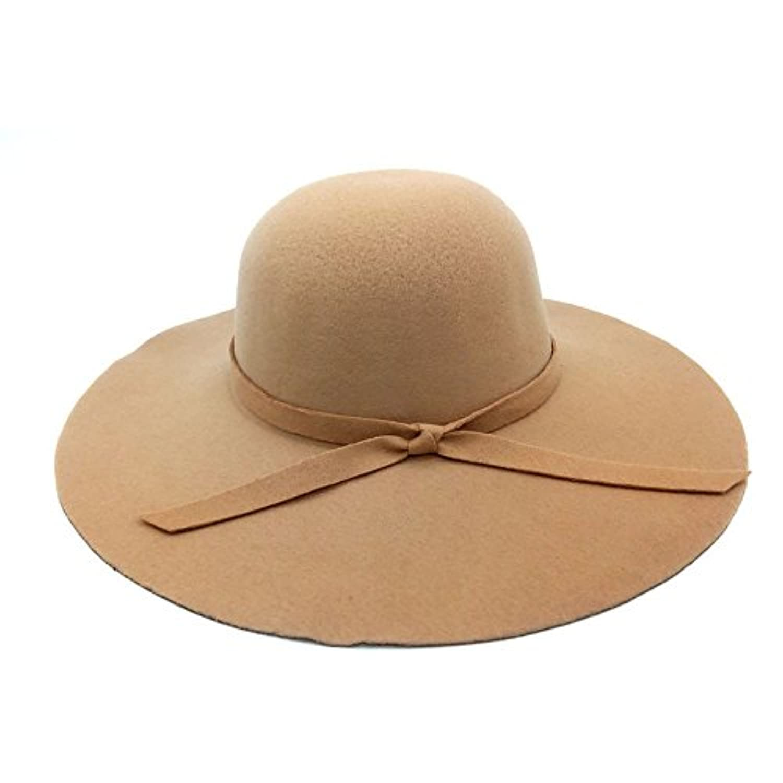 Lovehatsレディースビーチ帽子波大きなつばボンネットフェドーラLadyサンハット夏ヴィンテージPure Hats